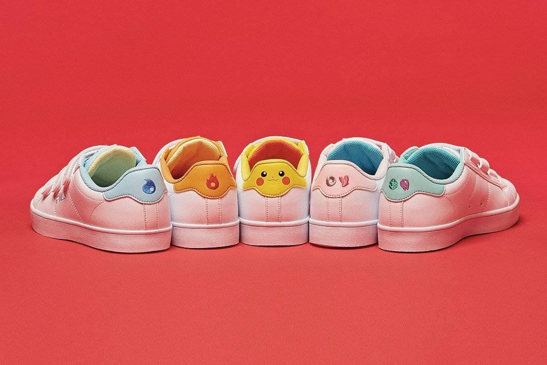 Le sneakers FILA ispirate ai Pokémon - D3nalab